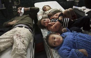 قربانیان جنگ در غزه
